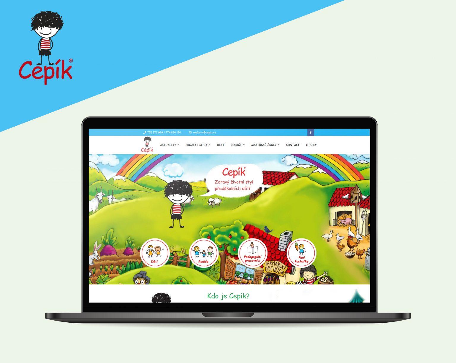 Webové stránky Cepík