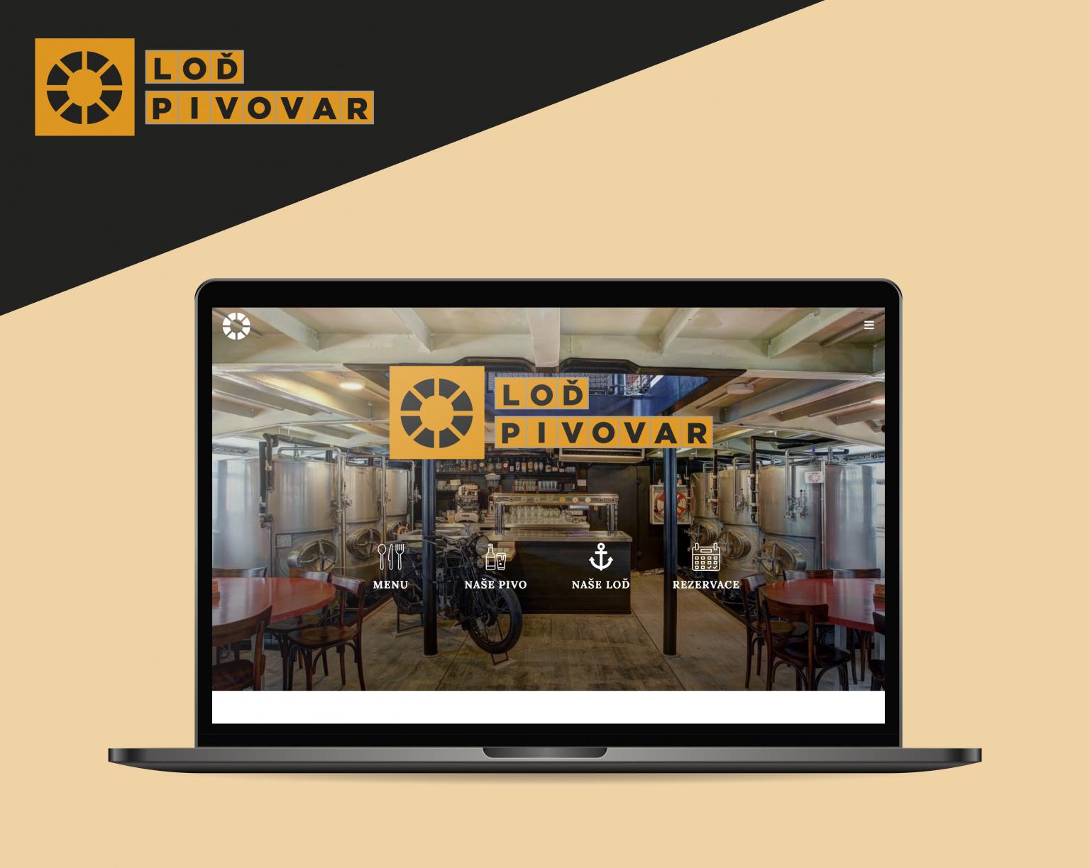 Webové stránky Loď Pivovar