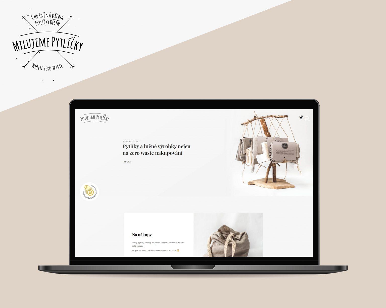 Webové stránky Milujeme pytlíčky