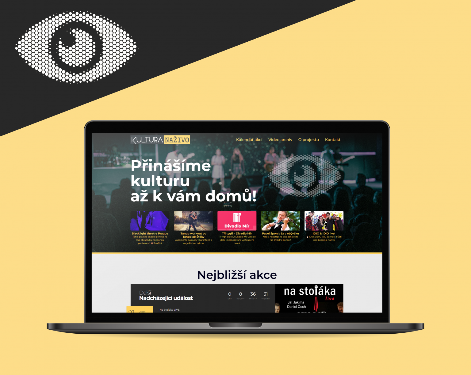 Webové stránky Kultura Naživo