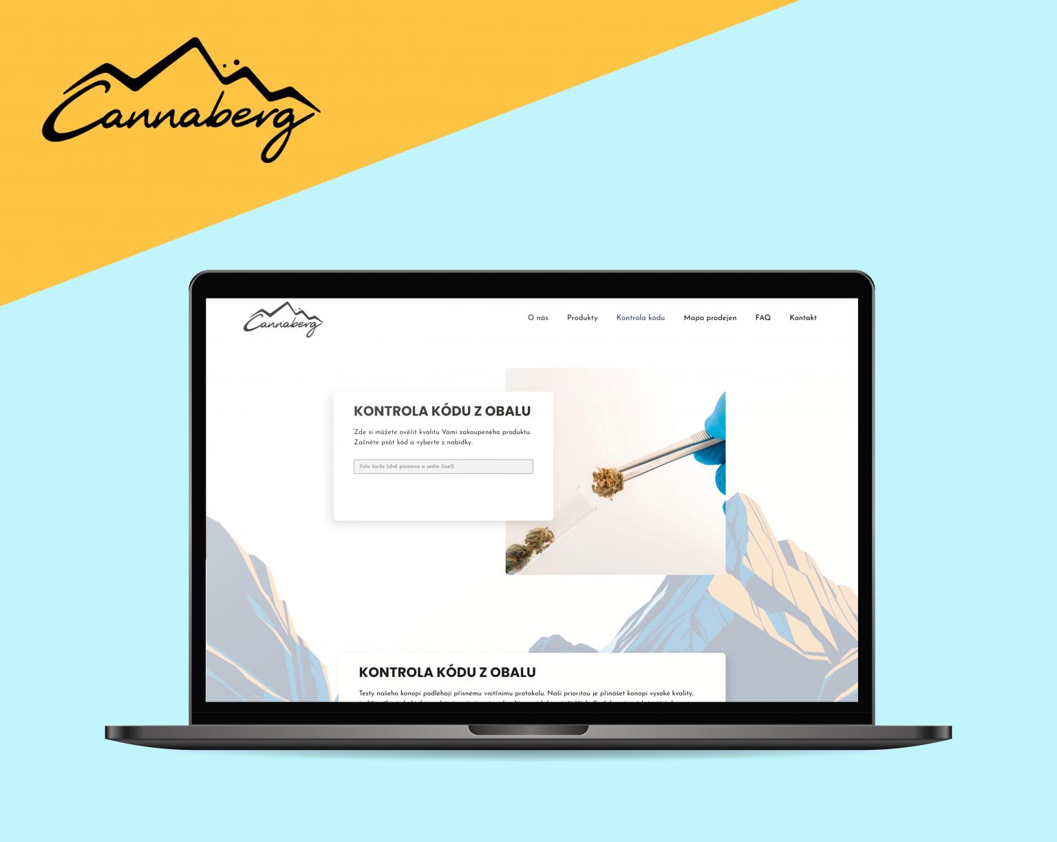 Webové stránky Cannaberg