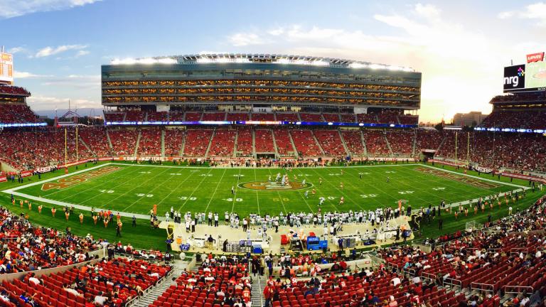 americký fotbal, super bowl, fotbalové hřiště, reklama